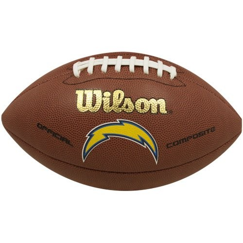 Wilson Football NFL Team Logo San Diego Chargers WTF1748SD