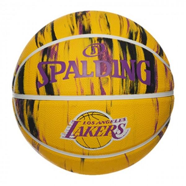 Spalding Basketball NBA LA Lakers Marble