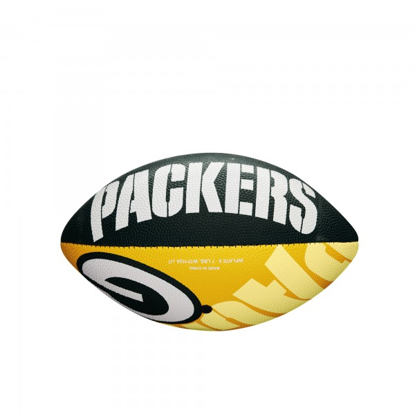Wilson Football NFL JR Green Bay Packers WTF1534XBGB