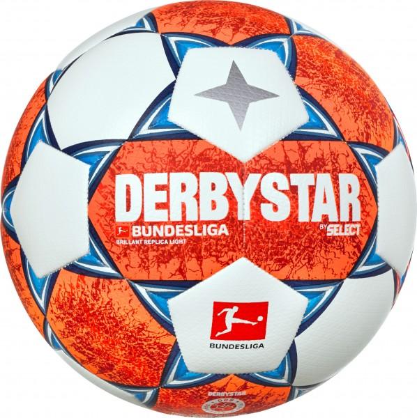 """Derbystar Fußball Bundesliga Brillant Replica """"S-light""""+""""Light"""" 2021/22"""