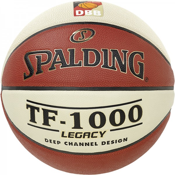 Spalding Basketball DBB TF 1000 Legacy Gr. 6 orange/weiß