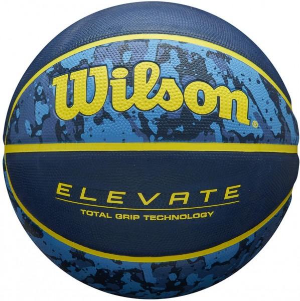 Wilson Basketball NCAA Elevate Gr.7 blue/yellow