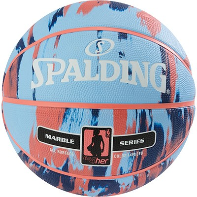 Spalding NBA Marble 4her - skyblau/royal/rot