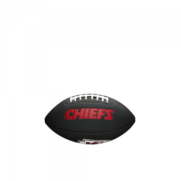 Wilson Football NFL Team Logo Mini Kansas City Chiefs WTF1533BLXBKC