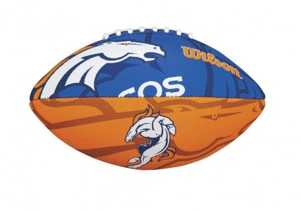 Wilson Football NFL JR Denver Broncos WTF1534XBDN