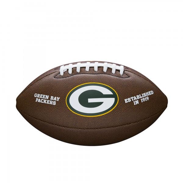 Wilson Football NFL Team Logo Green Bay Packers WTF1748XBGB