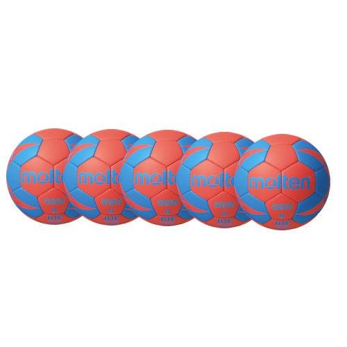 Molten Handball H3X3200 / H2X3200 / H1X3200 / H0X3200 -RB2 Ballpaket (5 Bälle)