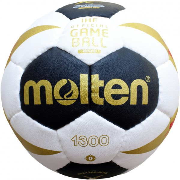 Molten Handball H0X1300-W7G Frauen WM 2017 Gr.0