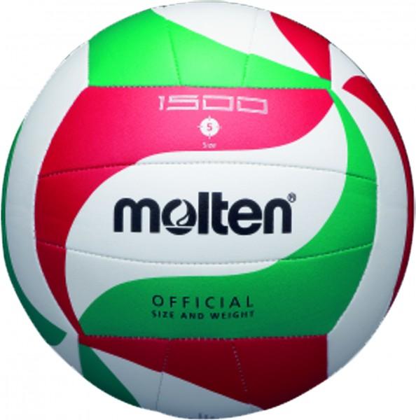 Molten Hallenvolleyball V5M1500 10er Ballpaket inkl. Ballnetz
