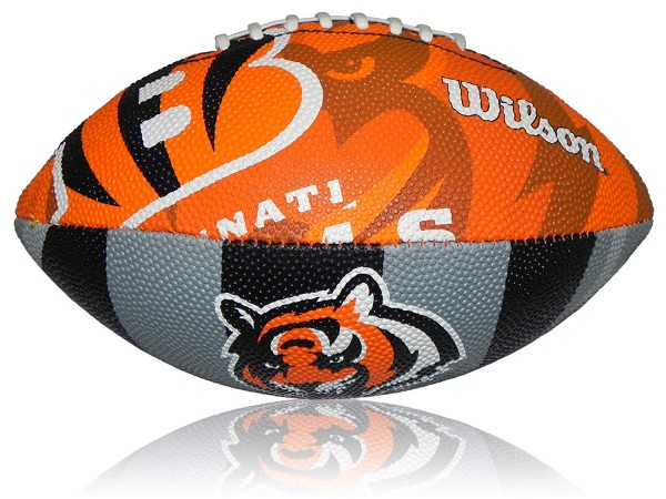 Wilson Football NFL JR Cincinnati Bangels WTF1534XBCN