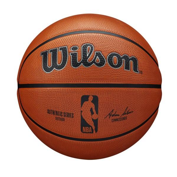 Wilson Basketball NBA Authentic Series Silver Outdoor