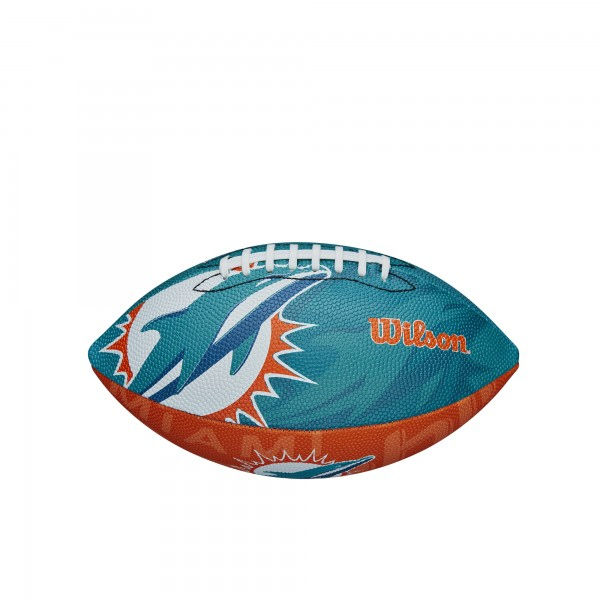 Wilson Football NFL JR Miami Dolphins WTF1534XBMI