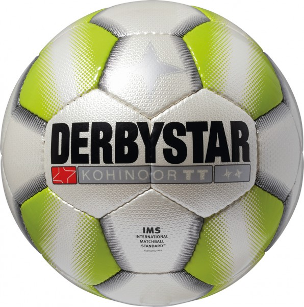 Derbystar Fußball Kohinoor TT weiß/grün