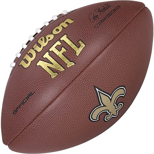 Wilson Football NFL Team Logo New Orleans Saints WTF1748NO