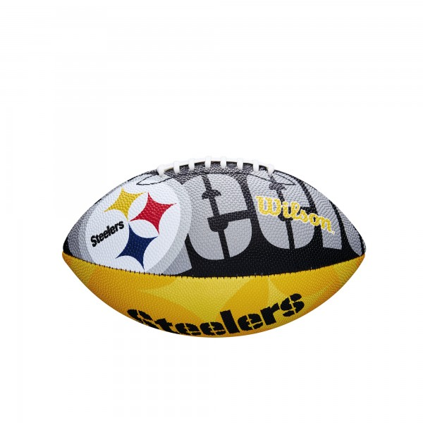 Wilson Football NFL JR Pittsburgh Steelers WTF1534XBPT