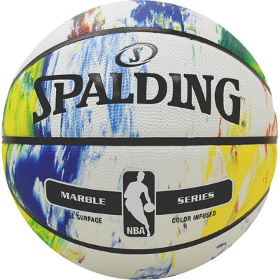 Spalding Basketball NBA Marble - multi-color