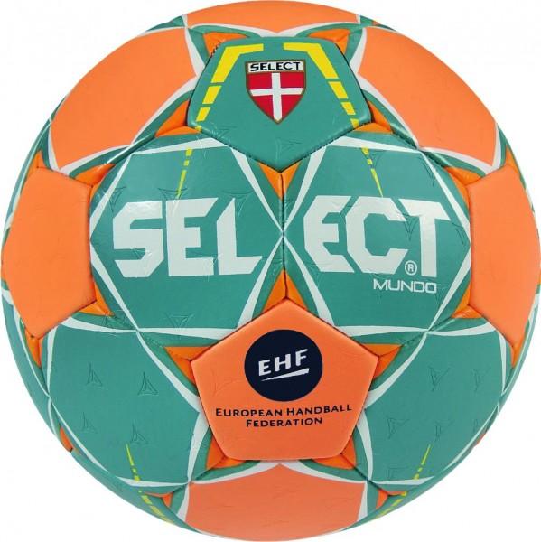 Select Handball Mundo grün/orange und lila/orange