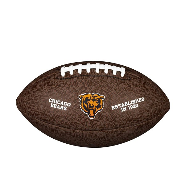 Wilson Football NFL Team Logo Chicago Bears WTF1748CH