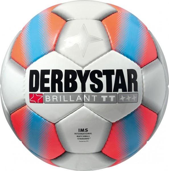 Derbystar Ballpaket Fußballpaket Brillant TT (10 Bälle + Ballnetz)