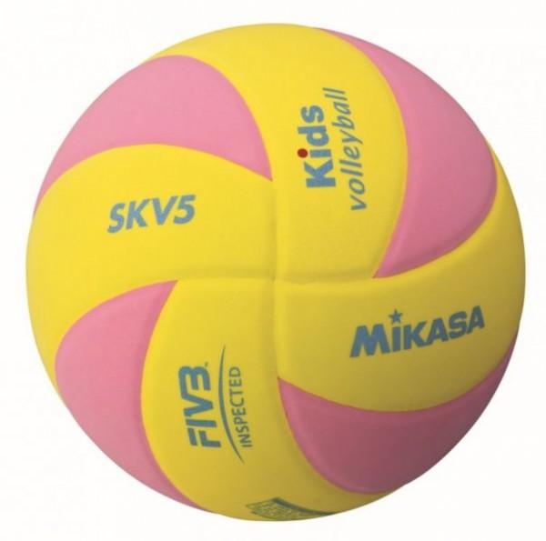 Mikasa Volleyball SKV5 YBL/YP Kids 1117/1122 - 5 oder 10 Bälle