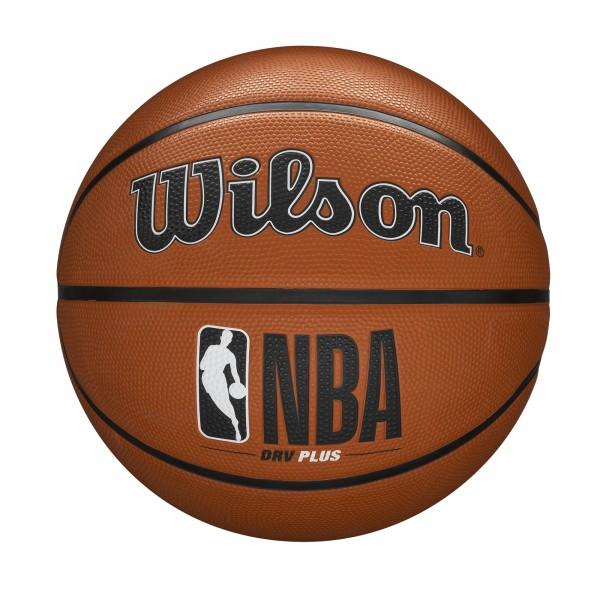 Wilson Basketball NBA DRV Plus Silver brown