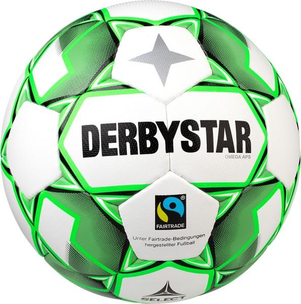 Derbystar Fußball Omega APS Wettspielball Fairtrade