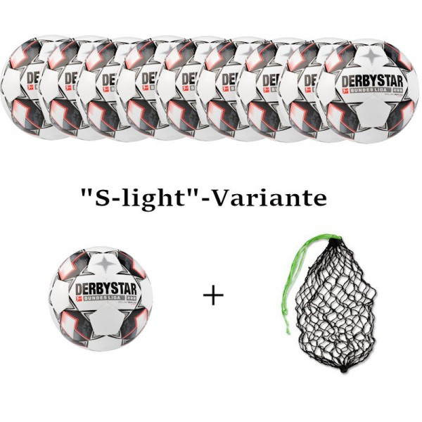 "Derbystar Fußball Bundesliga Brillant Replica ""S-light""+""Light""-Version Ballpaket"