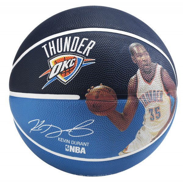 "Spalding Basketball NBA Player Ball ""Kevin Durant"" hell-/dunkelblau"