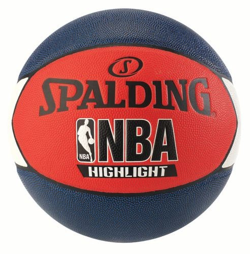 Spalding Basketball NBA Highlight rot/schwarz