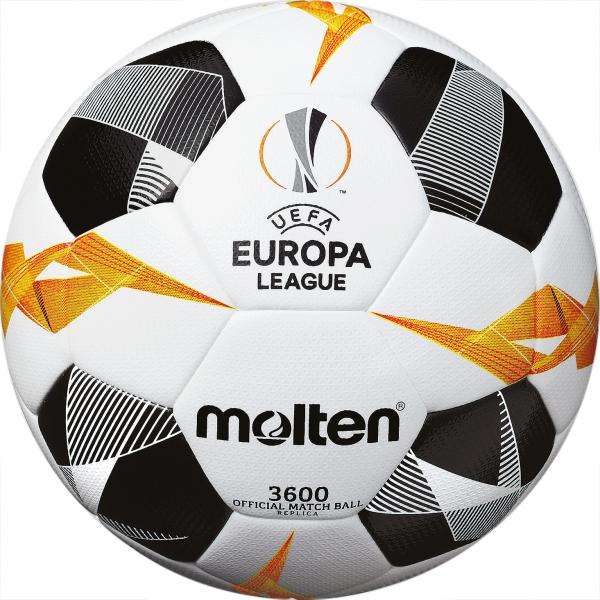 Molten Fußball Replica UEL 2019/2020 Weiß/Orange/Schwarz
