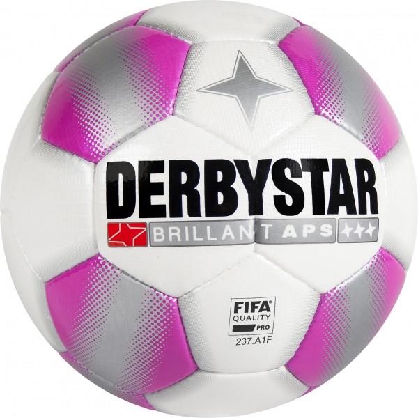 Derbystar Fußball Brillant APS Pink