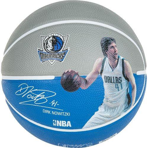 "Spalding Basketball NBA Player Ball ""Dirk Nowitzki"" blau/grau"