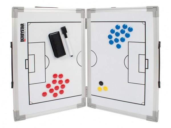 Derbystar Taktiktafel Fußball weiß