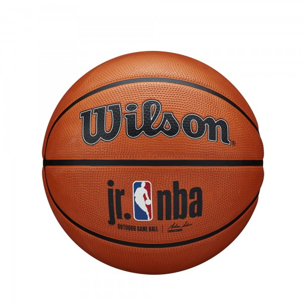 Wilson Basketball Junior NBA Authentic Series Silver Outdoor
