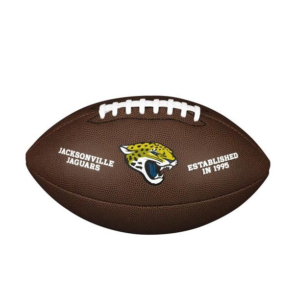 Wilson Football NFL Team Logo Jacksonville Jaguars WTF1748JX