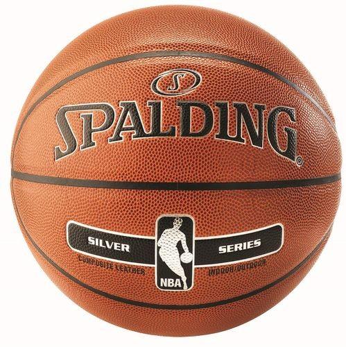 Spalding Basketball NBA Silver IN/Outdoor Gr.7