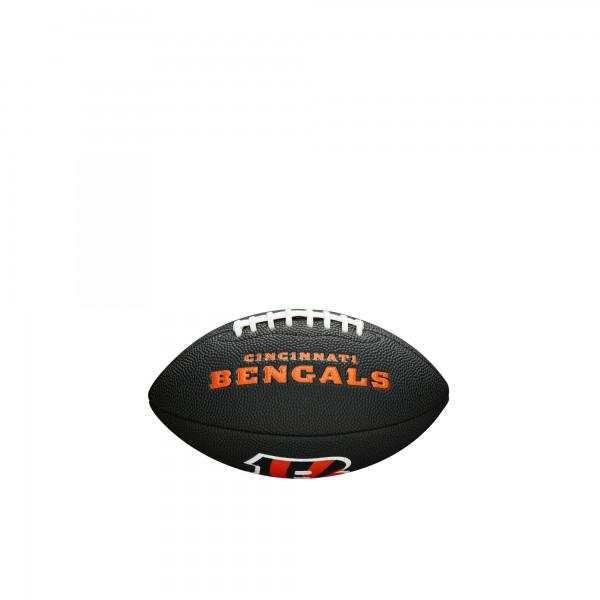 Wilson Football NFL Team Logo Mini Cincinnati Bengals WTF1533BLXBCN
