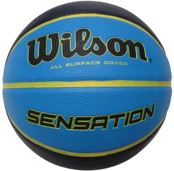 Wilson Basketball Sensation blue/orange Gr. 7