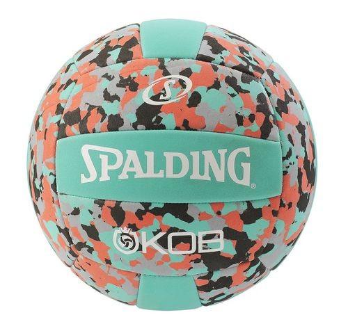 Spalding Beachvolleyball King of the Beach türkis/rot