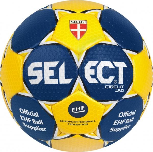 Select Handball Circuit dunkelblau/gelb