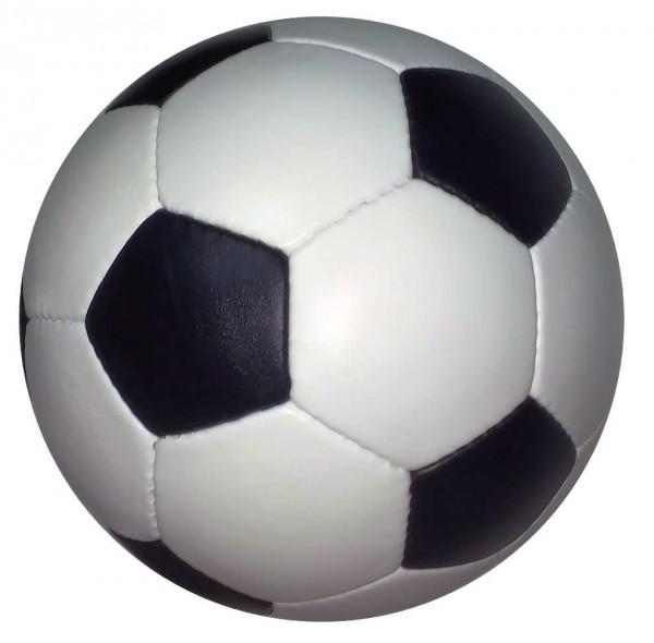 Fußball Retro 1970, 1974, Echtlederball, Retrofußball