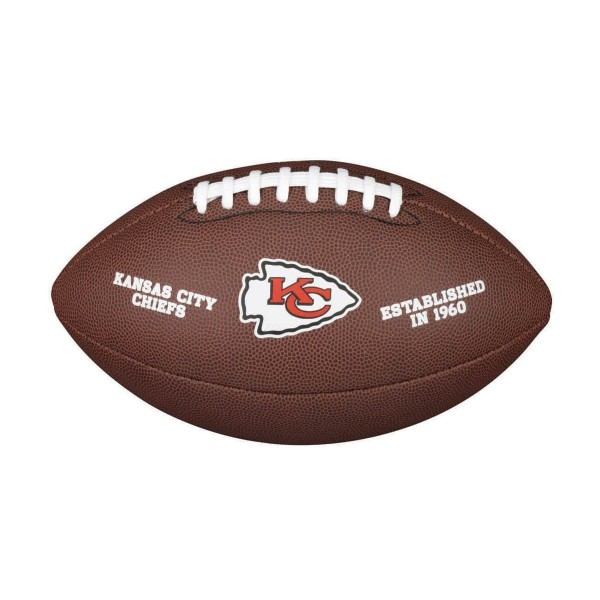 Wilson Football NFL Team Logo Kansas City Chiefs WTF1748KC