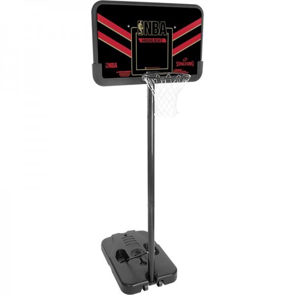 Spalding Basketballkorbanlage NBA Highlight Composite (portable)