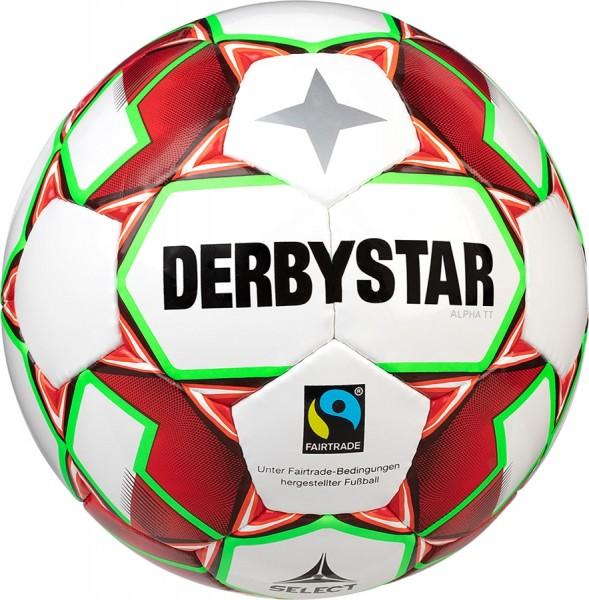 Derbystar Fußball Alpha TT Trainingsball Fairtrade