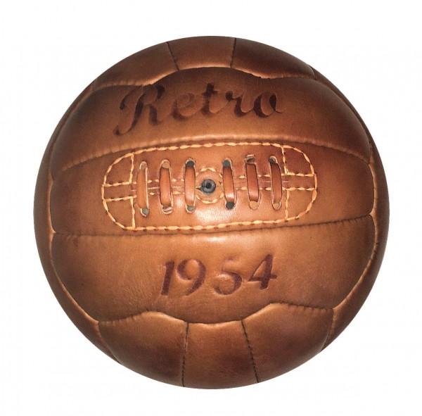 Echtleder Fußball - mit Ihrem Logo gestanzt