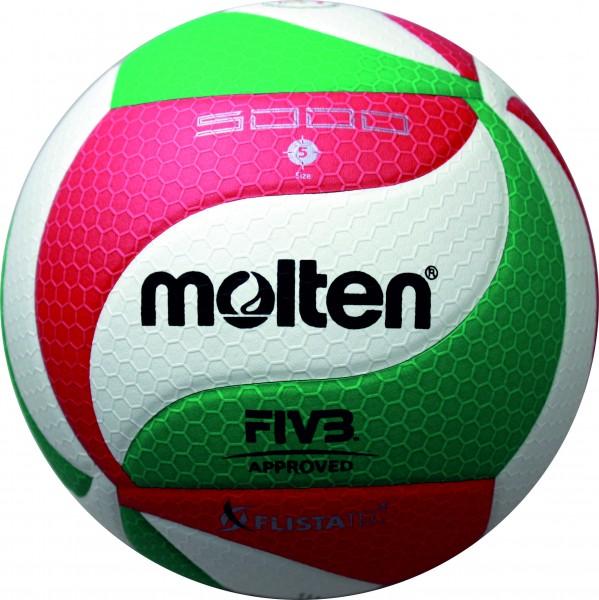 Molten Hallenvolleyball V5M5000-DE 10er Ballpaket inkl. Ballnetz