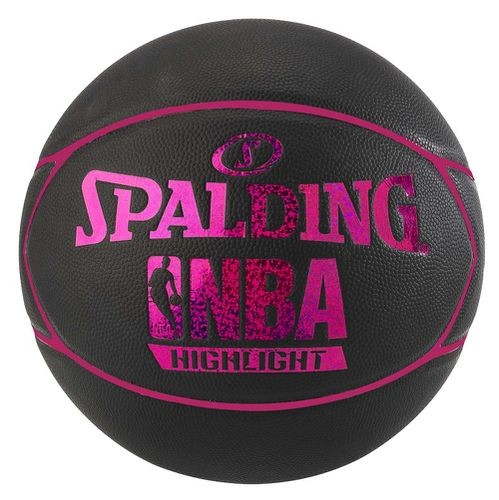 Spalding Basketball NBA Highlight 4her schwarz/pink