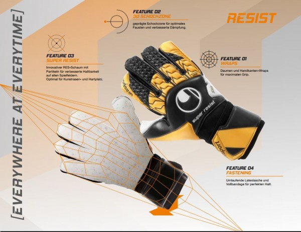 Uhlsport Torwarthandschuh Soft Resist SF
