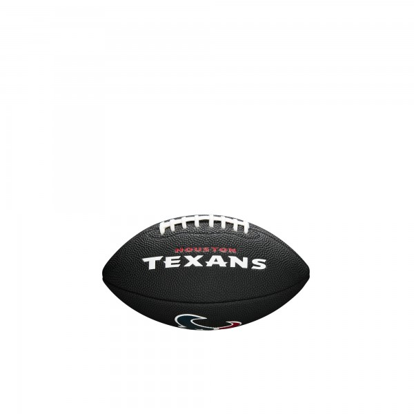 Wilson Football NFL Team Logo Mini Houston Texans WTF1533BLXBHU
