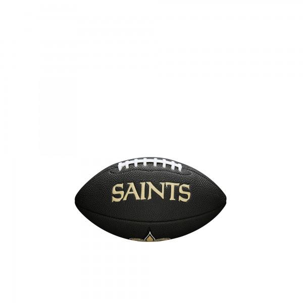 Wilson Football NFL Team Logo Mini New Orleans Saints WTF1533BLXBNO